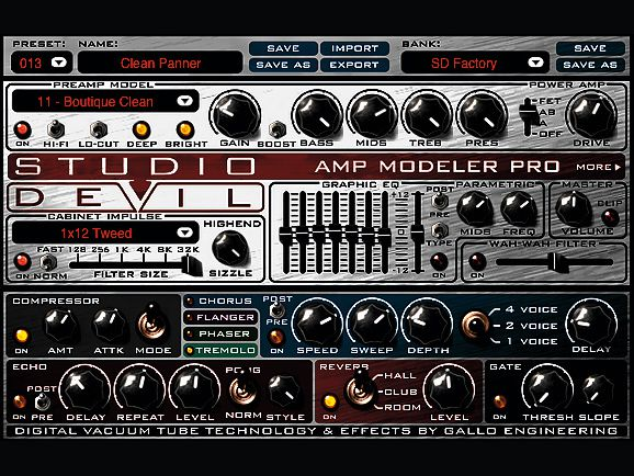 Photo of Studio Devil Amp Modeler Pro