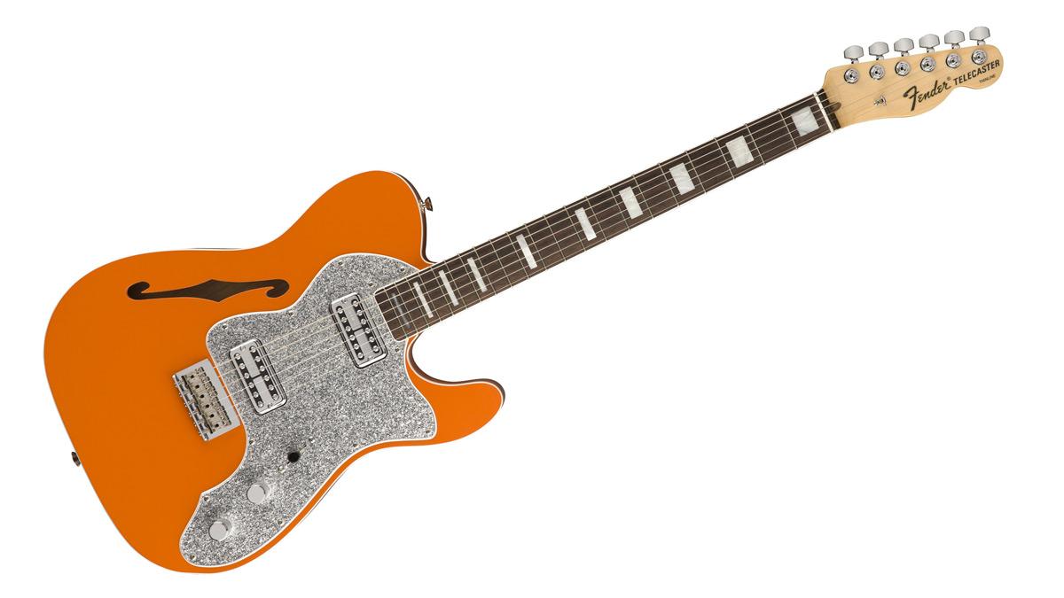 Fender Tele Thinline Super Deluxe'ü piyasaya sürdü.