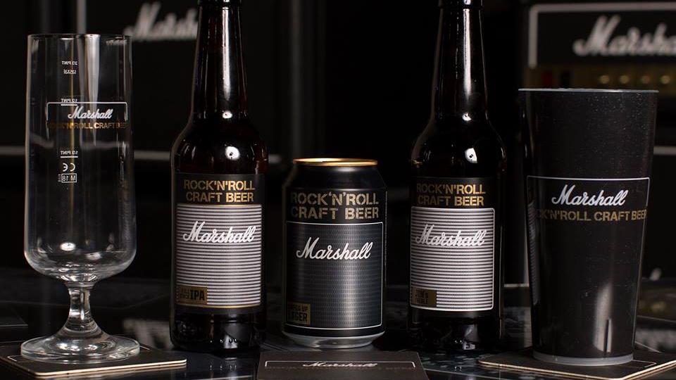 Ünlü Amfi Markası Marshall Şimdide Bira Üreticek