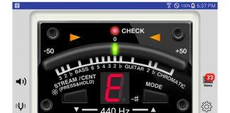Android Gitar Akort Programı Boss Tuner