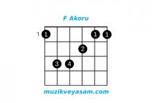 f akoru nasıl basılır