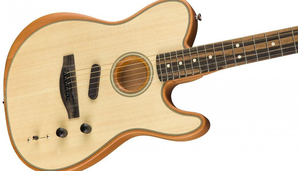 Fender Yeni Amerikan Acoustasonic Telecaster'ı Piyasaya Sundu.