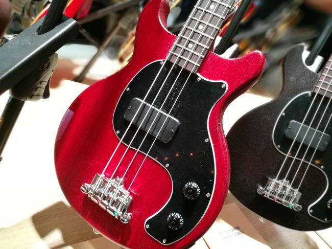 Les Paul Junior Tribute DC Bass - Worn Cherry