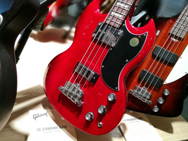 SG Standard Bass - Heritage Cherry