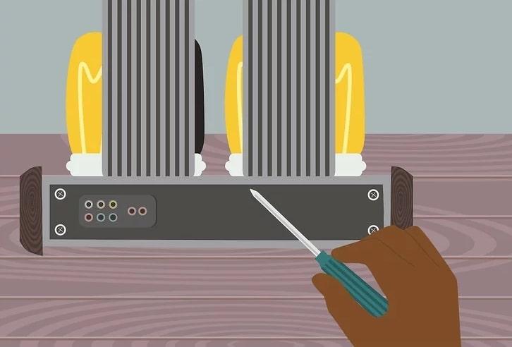 Lambalı Amfi (Amplifikatör) Lambaları Nasıl Değiştirilir? 2