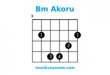 Bm akoru nasıl basılır?