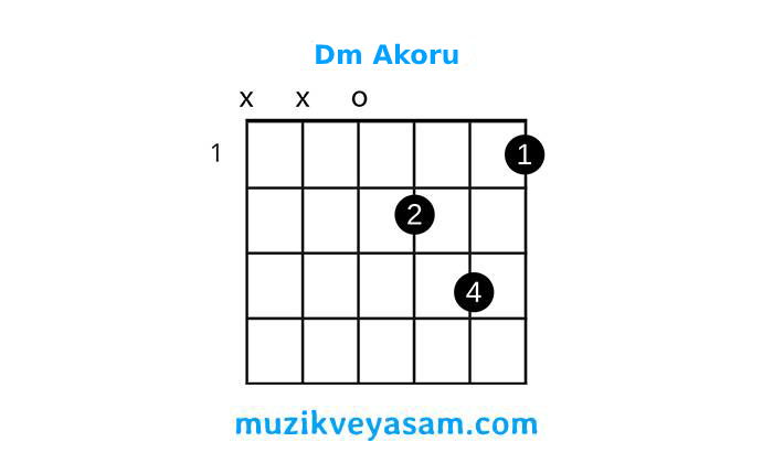gitar dm akoru nasıl basılır