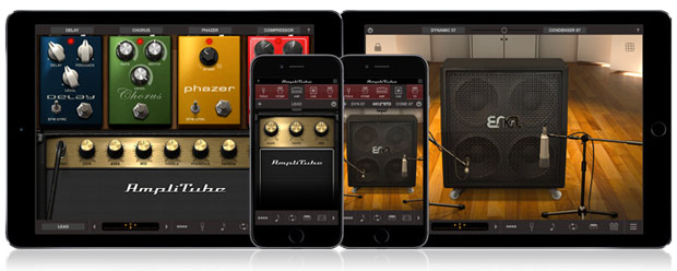 Iphone-Ipad Amplitube Mobil