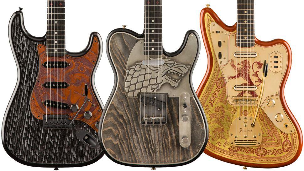 Photo of Fender Game Of Thrones Özel Tasarım Gitarlarını Tanıttı