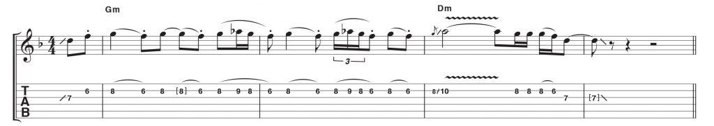 Carlos Santana Örnek Riff