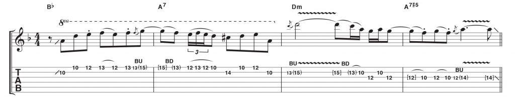Örnek Gitar Riff-3
