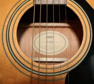 Yamaha-F310 Soundhole