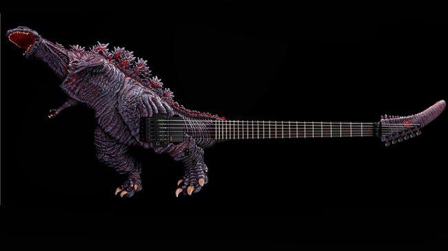 ESP Godzilla Konsept Gitarını Tanıttı 1