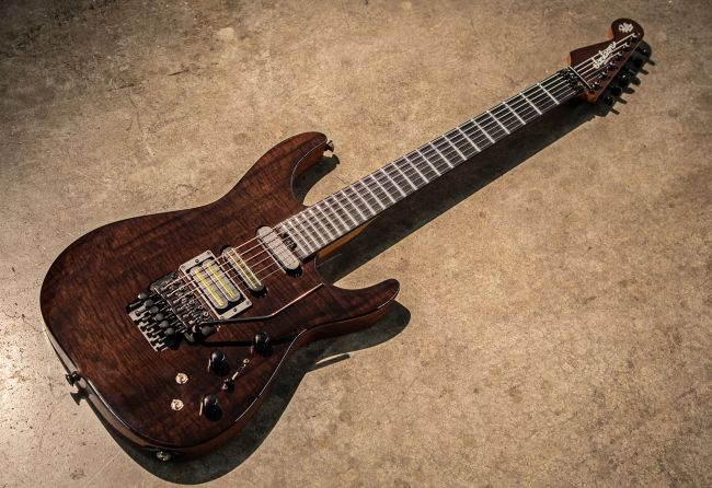 Jackson Custom Shop Limited Edition Signature Phil Collen PC1 Black Walnut