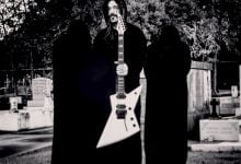 Solar Guitars E1.6 Priestess Exhorder'ın Marzi Montazeri imzalı modeli