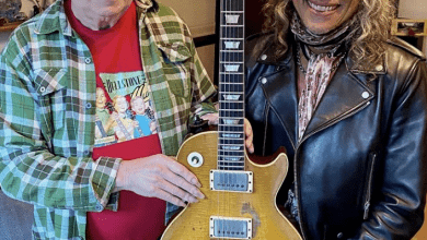 Photo of Gibson, Kirk Hammett için 1959 Les Paul Standard üretti