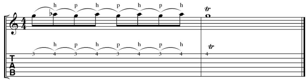 elektro-gitar-teknikleri-trill-teknigi